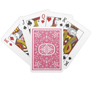 Red Star Back Playing Cards