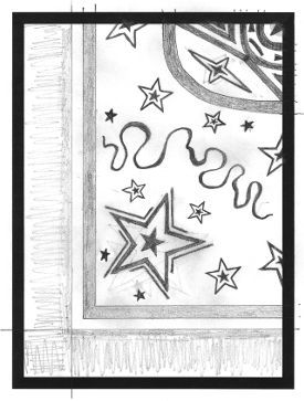 My initial Star Back drawing