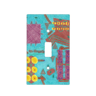 Colorful Circuits Circuit Board Light Switch Cover, as it originally was without further expansion of the image