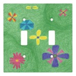 Flowers on Grassy Hills Double Toggle Cover, product at The Draw on Zazzle