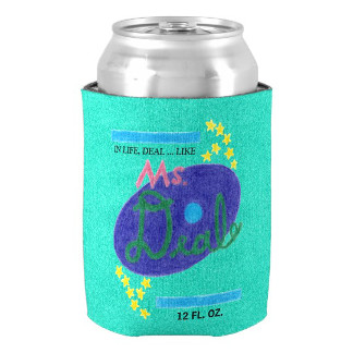 Can of Ms. Deal Soda (Can Cooler), product at The Draw on Zazzle