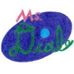 Ms. Deal - Logo, colored pencil drawing by Darren Olsen at The Draw