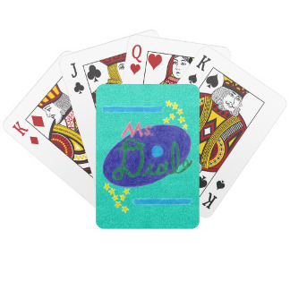 Ms. Deal Soda Branded Playing Cards, product at The Draw on Zazzle