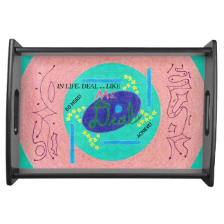 Ms. Deal Soda Branded Serving Tray, product at The Draw on Zazzle
