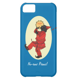 Nowruz Dancing Man in Red, Haji Firuz iPhone 5C Cover, product at flutterbydesigns on Zazzle