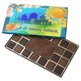 Nowruz Mubarak. Persian New Year Gift Chocolates, product at MAIRIN STUDIO on Zazzle