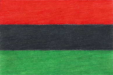 Bandera v1, colored pencil drawing by Darren Olsen at The Draw