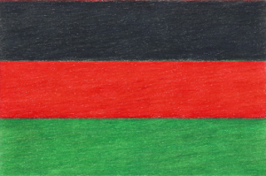 Bandera v2, colored pencil drawing by Darren Olsen at The Draw