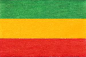 Bandera v3, colored pencil drawing by Darren Olsen at The Draw