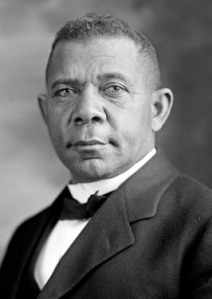 A photo of Booker T. Washington