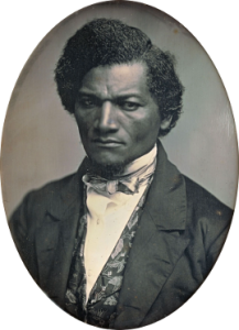 A photo of Frederick Douglass
