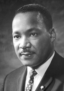 A photo of Martin Luther King Jr.