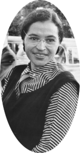 A photo of Rosa Parks