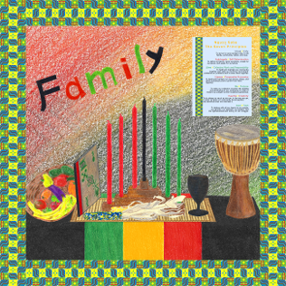 Collection logo image for the Gather 'Round Kwanzaa Creations Kit at The Draw on Zazzle