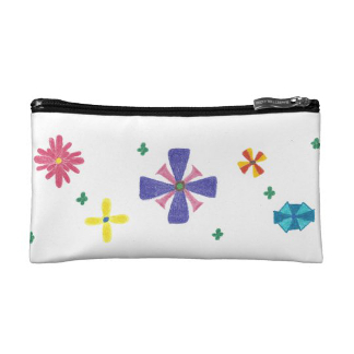 Flowers Are for Me! Accessory Bag, product at The Draw on Zazzle