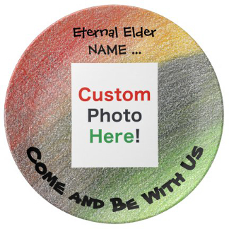 Kwanzaa Creations Ancestor Porcelain Plate, product at The Draw on Zazzle