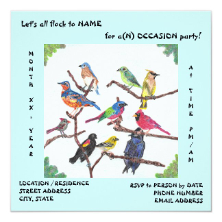 The Gathering Special Occasion Invitations, product at The Draw on Zazzle